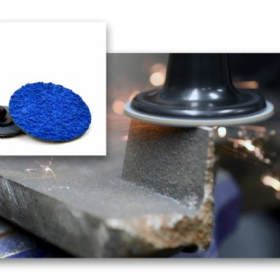 Quick-Change Discs for Aggressive Removal of Weld Seams and ...
