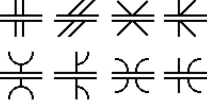 Common symbols for groove welds.