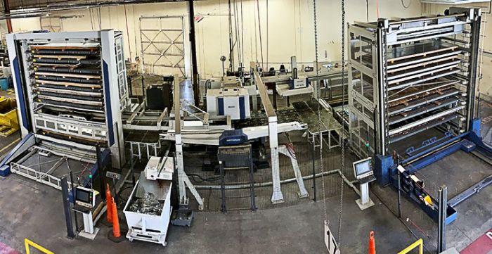 Murata Machinery automated punching cell