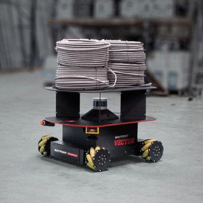 Autonomous Mobile Robot for Material Handling