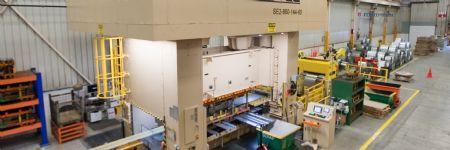 Big Press Line—A Big Investment in U.S. Manufacturing