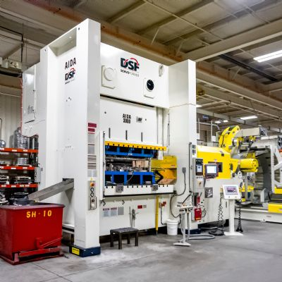 Clips & Clamps' First Servo Press Adds Flexibility
