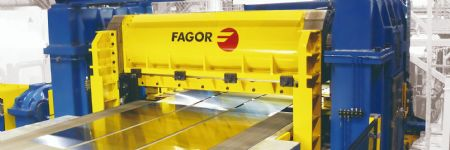 Fagor Arrasate Teams Up to Develop Smart Shears for High Strength Steels