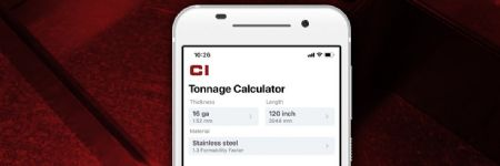 Load-Calculator App Compatible with All Press Brakes
