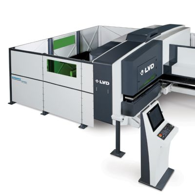 Versatile Manufacturing via New Punch-Laser Combo ...