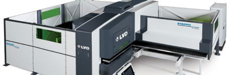 Versatile Manufacturing via New Punch-Laser Combo Machine