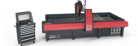 Versatile Waterjet Cutting Machine with Multi-Axis Cutting Head
