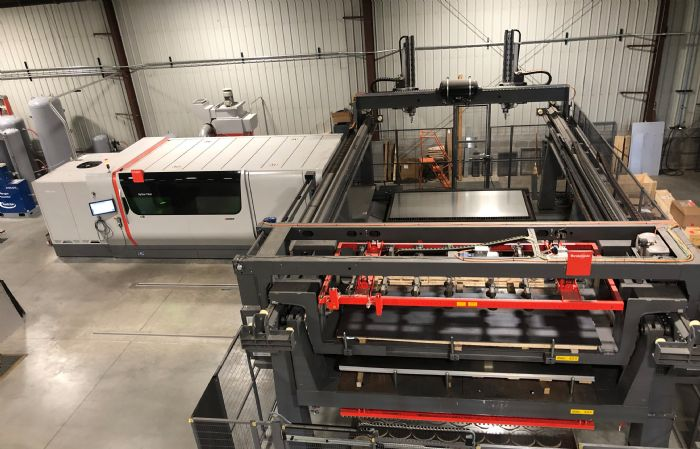 Bystronic automated laser Jan-Air