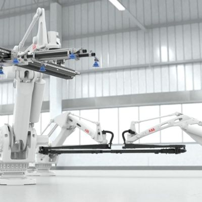 ABB Debuts Speedy Press-Tending Robot