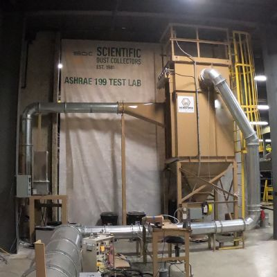 New ASHRAE Standard 199 Test Lab for Scientific Dust Collectors
