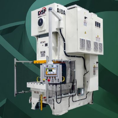 Next-Gen Aida Gap-Frame Servo Presses Ready to Roll