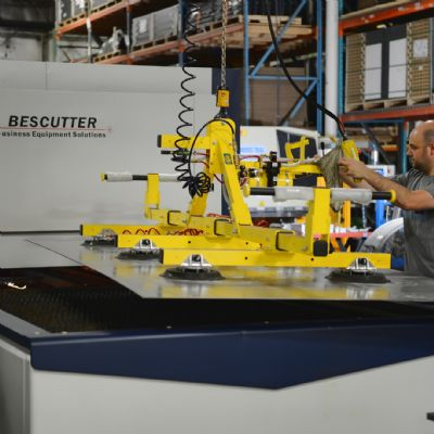 TAB Industries Installs New Laser-Cutting Machine
