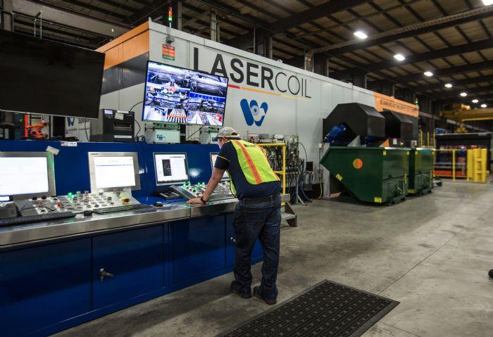 Lasercoil-line