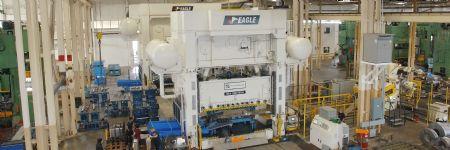 Bigger Dies and Stronger Steels Mean Bigger, Stronger Presses