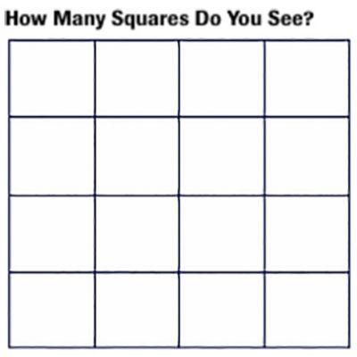 Hidden Squares and Invisible Gorillas