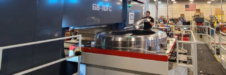 Triform Delivers Large-Diameter Fluid-Cell Sheet-Hydroforming Press