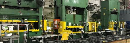Cobots Keep Stamping Presses Fed at WI Manufacturer