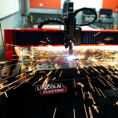 New CNC Plasma Cutting Table Accepts 5 by 10-ft. Sheets