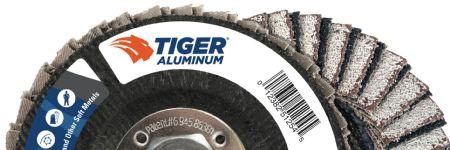 New Flap Discs for Grinding Aluminum