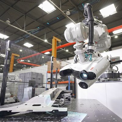Quicker QC Testing via 3D-Inspection Robot Cell