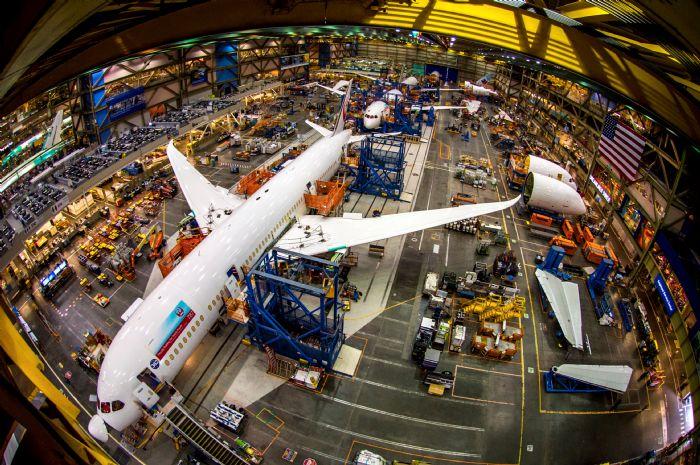Boeing Factory Everett Washington