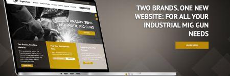 Arc-Welding Guns, Consumables Featured on New Bernard and Tregaskiss Joint Website