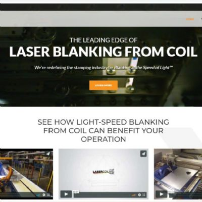 LaserCoil Technologies' Website Features New Conte...