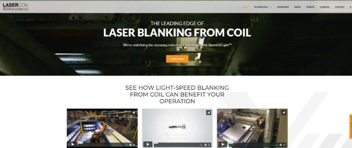 lasercoil-website