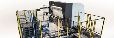 Robotic Bending System Features Automated Tool-Changing Press Brake
