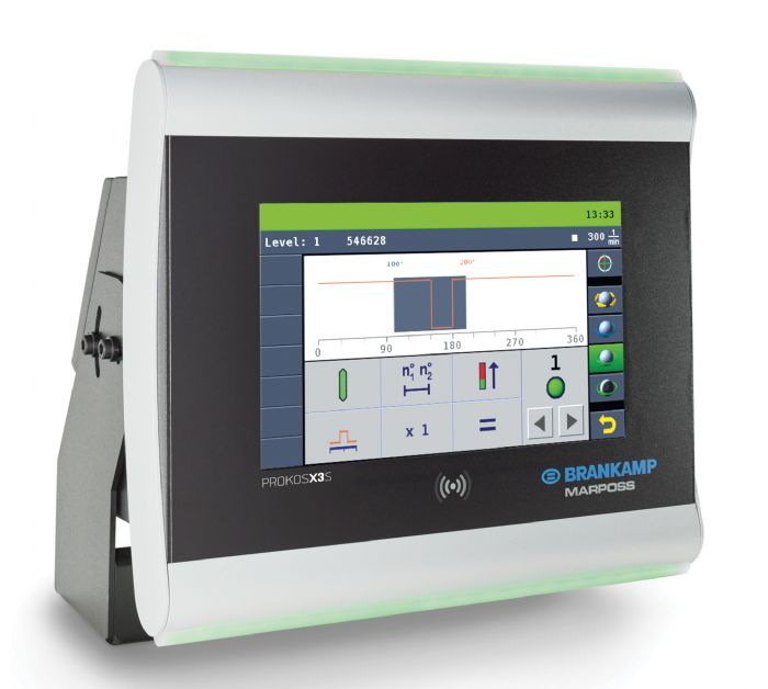 Brankamp control screen
