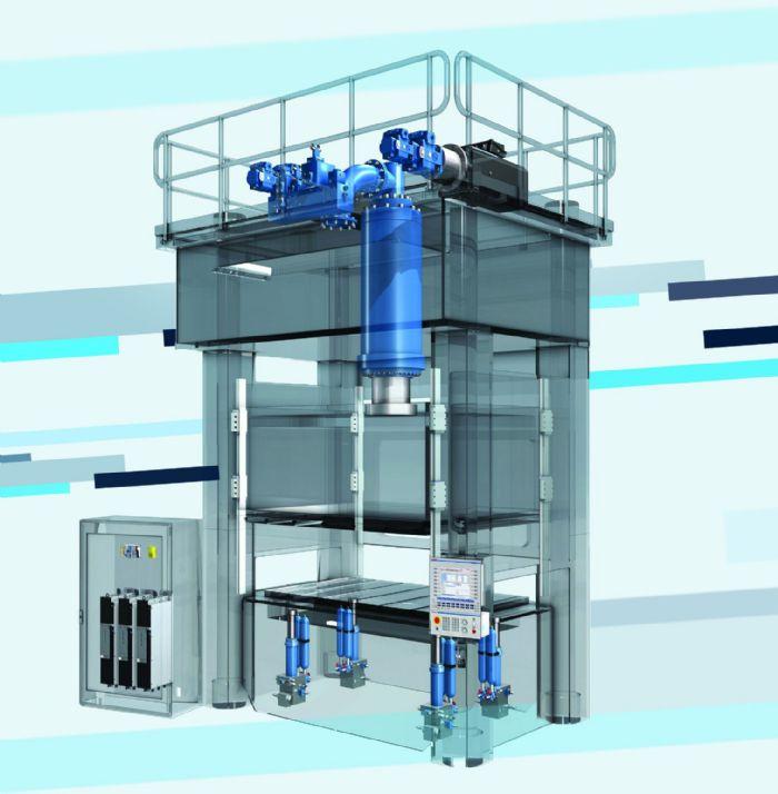 Cutaway-Mechanical-Presses-Bosch Rexroth