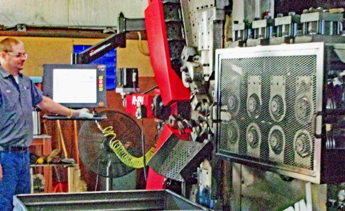 Photo B spring coiler