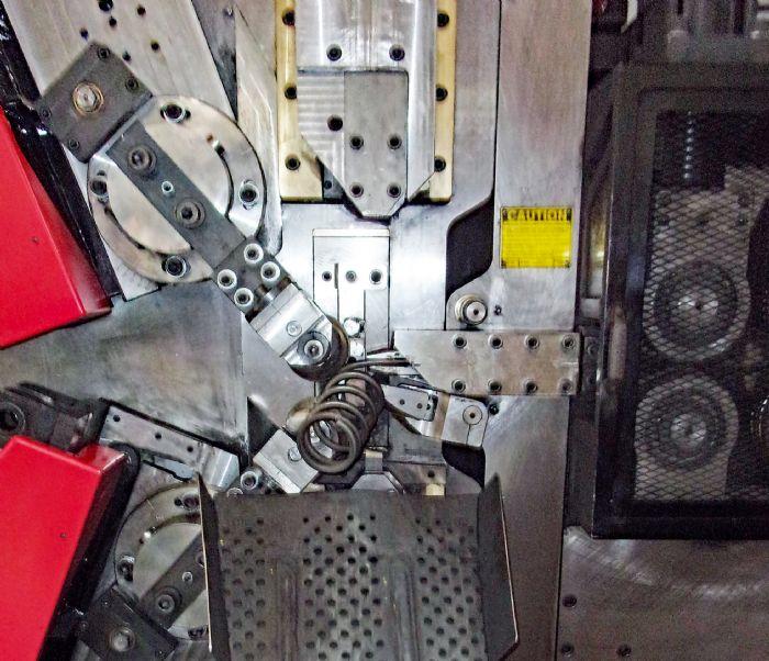 Photo C spring coiler closeup
