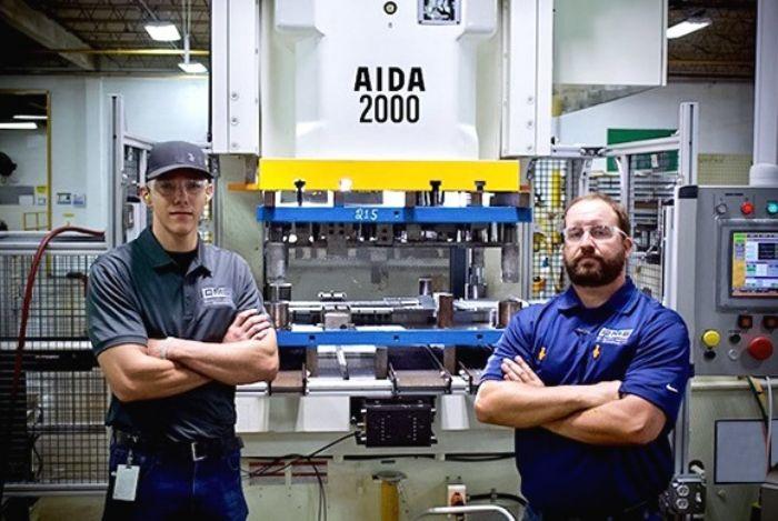 aida-servo-press-quality-metal-stamping