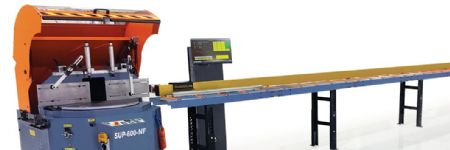 Automated Program for 90-Deg. Cuts on Scotchman Circular-Sawing System
