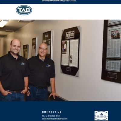 TAB Industries Launches New Website, Showcases Laser Cutting