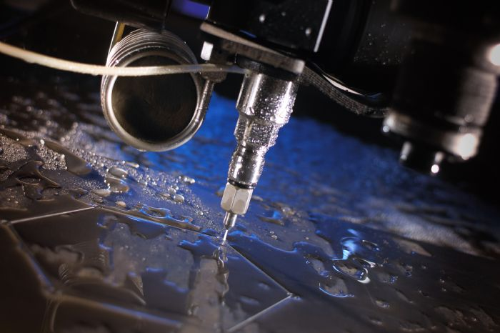 OMAX-Abrasive Waterjet Cutting
