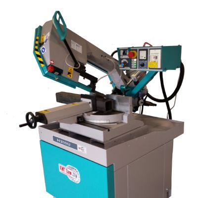 Bandsaw Features Variable-Speed Drive