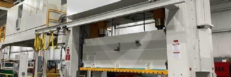 High-Volume Stamper TrimLine Installs 630-Ton Aida Servo Press