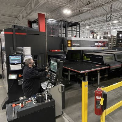 Punch-Laser Machines Pump Life into Cellular Manuf...