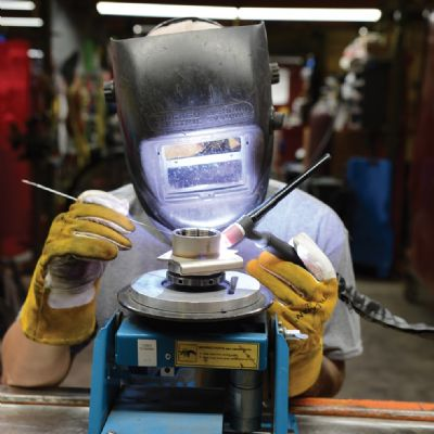 Tab Industries Expands Welding Shop