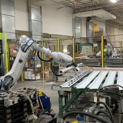 Cellular Robotic Press Brake Tending Provides the Boost