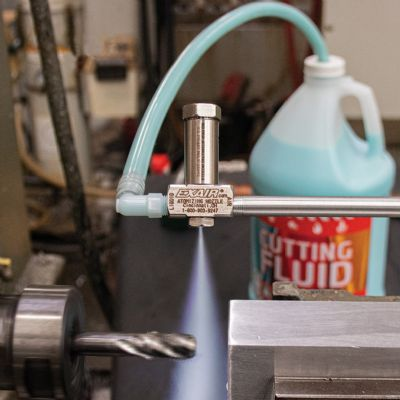 Conserve Lubricant in Non-Pressurized Systems with Siphon-Fe...