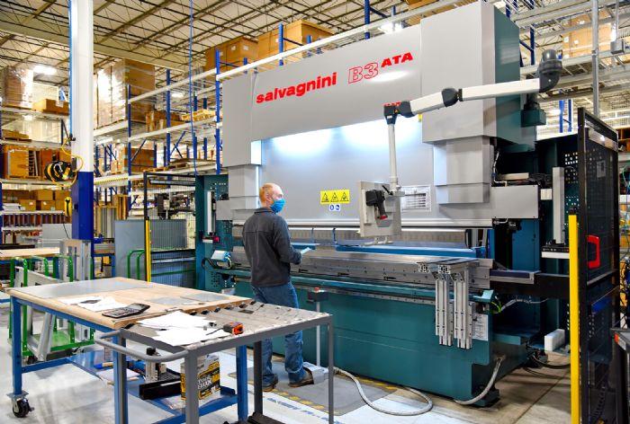 Salvagnini-Laser-Press-Brake