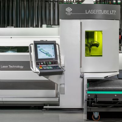 Sharpe Products Installs BLM Tube Fiber-Laser Cutting Machin...