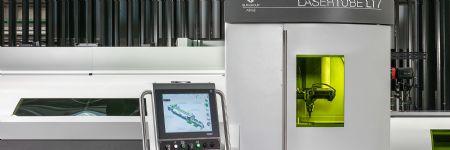 Sharpe Products Installs BLM Tube Fiber-Laser Cutting Machine
