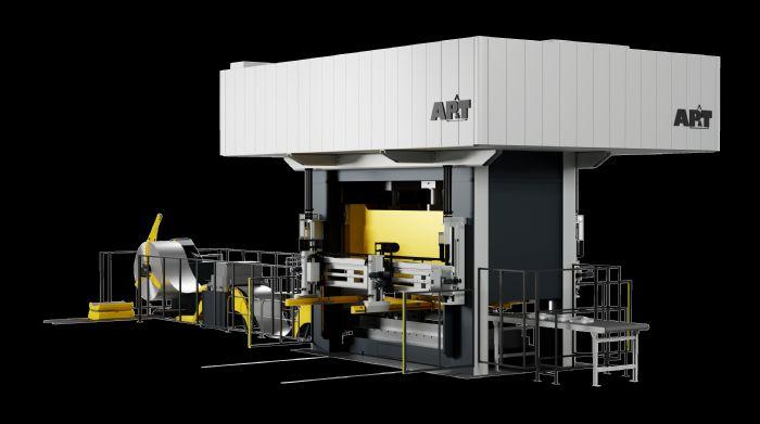 APT-Servohydraulic-press