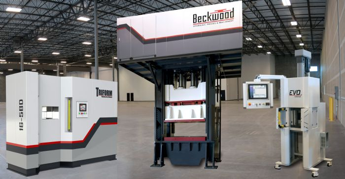 Beckwood-hydraulic-servoelectric-presses