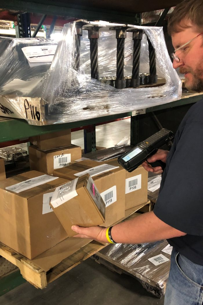 Photo A Global Shop Solutions Barcode Labeling Zephyr