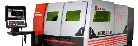 Amada to Debut Brevis 1212 AJ Fiber Laser